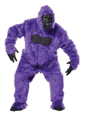 Adult Purple Gorilla Costume