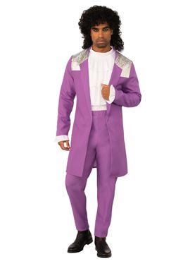 Adult Purple Rain Costume