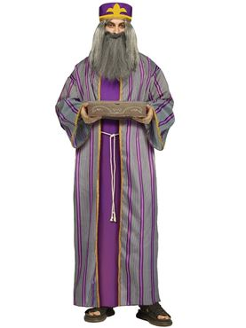 Adult Purple Wise Man Costume Couples Costume