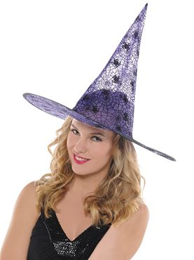 Adult Purple Witch Hat