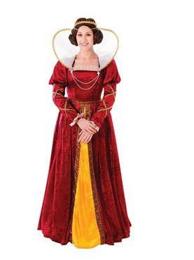 Adult Queen Elizabeth Costume