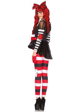Adult Rag Doll Costume - Back View