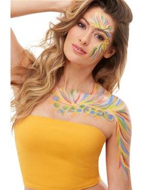 Adult Rainbow Festival Makeup Kit