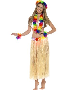 Adult Rainbow Hawaiian Set