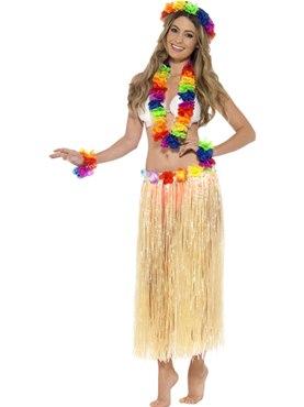 Adult Rainbow Hawaiian Set