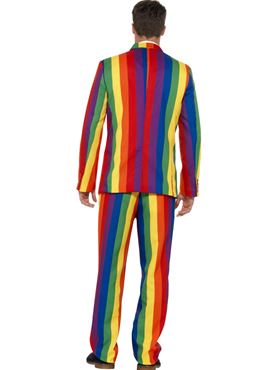 Adult Rainbow Stand Out Suit - Side View