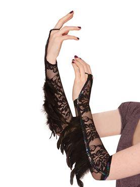 Adult Raven Lace Gloves