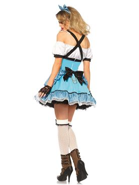 Adult Rebel Alice Costume - Back View