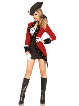 Adult Rebel Pirate Costume