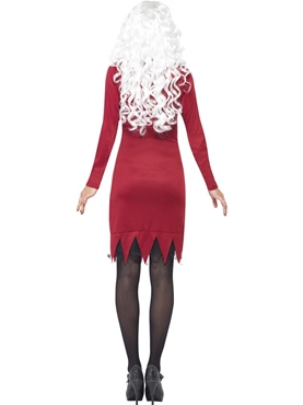 Adult Red Beauty Bones Costume - Side View