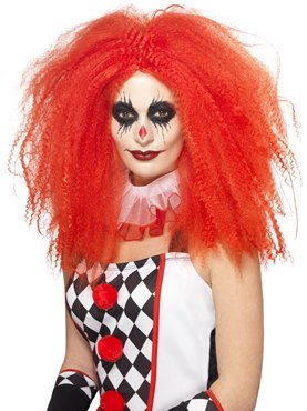 Adult Red Clown Wig