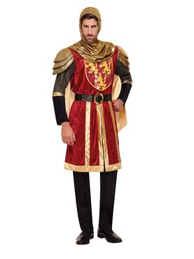 Adult Red Crusader Costume