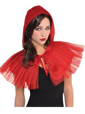 Adult Red Riding Hood Capelet