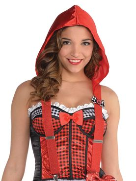 Adult Red Riding Hood Braces
