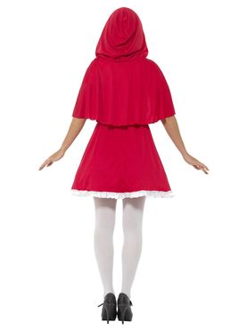 Adult Red Riding Hood Costume - Side View