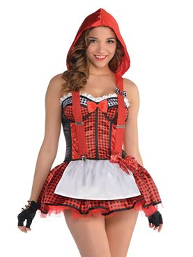 Adult Red Riding Hood Tutu - Back View