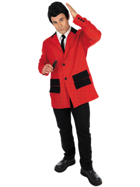 Adult Red Teddy Boy Costume Couples Costume