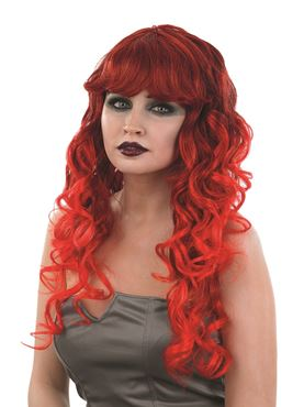 Adult Red Temptress Wig