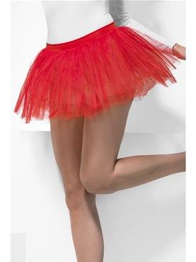 Adult Red Tutu Underskirt