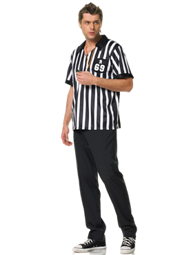Adult Referee Costume Couples Costume
