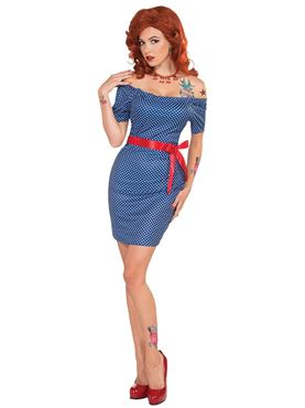 Adult 1950s Retro Betty Costume