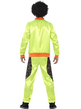 Adult Retro Shell Suit Costume - Side View