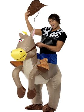 Adult Ride 'Em Cowboy Costume