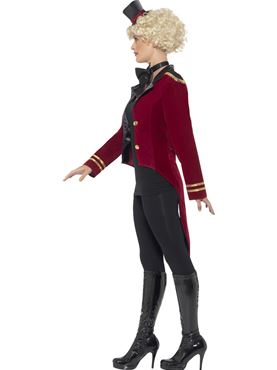 Adult Ringmaster Costume - Back View