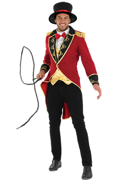 Adult Ringmaster Costume Couples Costume