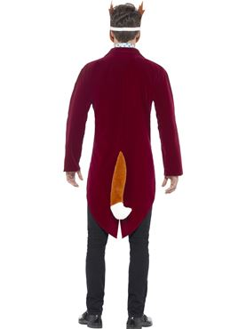 Adult Roald Dahl Fantastic Mr Fox Costume - Side View