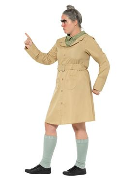 Adult Roald Dahl Miss Trunchbull Costume - Back View