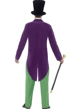 Adult Roald Dahl Willy Wonka Costume - Side View