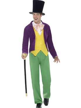 Adult Roald Dahl Willy Wonka Costume