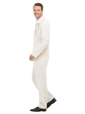Adult Roaring 20s Gent Costume - Side View