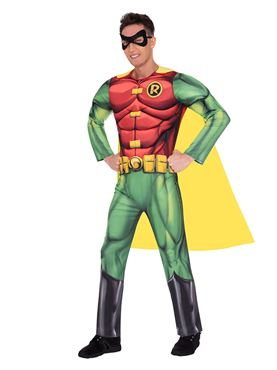 Adult Robin Classic Mens Costume - Side View