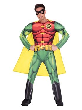 Adult Robin Classic Mens Costume Couples Costume