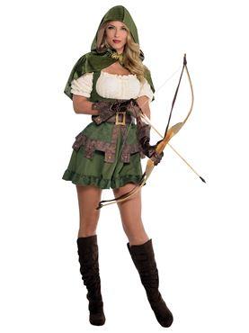 Adult Robin Hoodie Costume