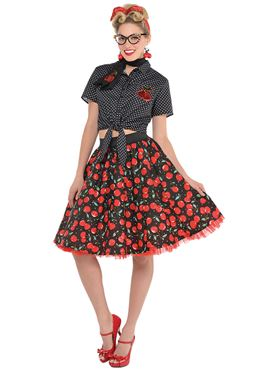 Adult Rockabilly Blouse