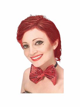 Adult Rocky Horror Columbia Wig - Back View