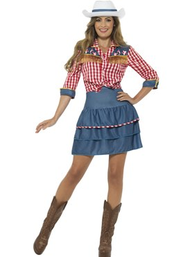 Adult Rodeo Doll Costume