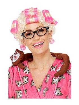 Adult Roller Granny Wig