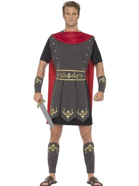 Adult Roman Gladiator Costume Couples Costume