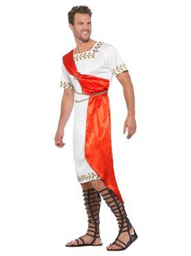 Adult Roman Senator Costume - Back View
