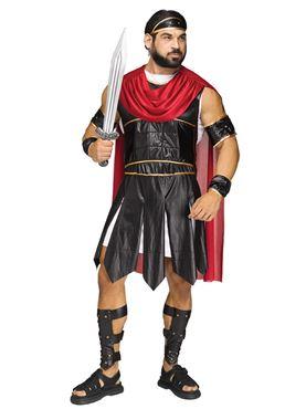 Adult Roman Soldier Costume  sc 1 st  Fancy Dress Ball & Adult Roman Soldier Costume - 3342A - Fancy Dress Ball