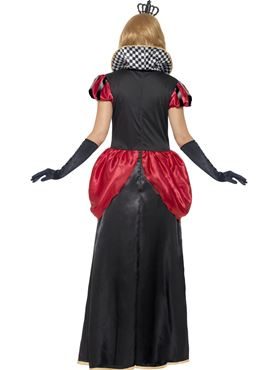 Adult Royal Red Queen Costume - Side View