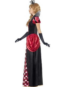 Adult Royal Red Queen Costume - Back View