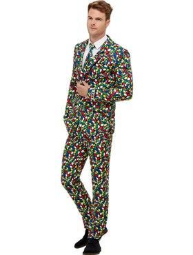 Adult Rubik's Cube Suit - Back View