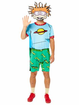 Adult Rugrats Chuckie Costume Couples Costume