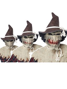 Adult Sadistic Scarecrow Costume - Back View