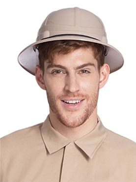 Adult Safari Hat - Back View